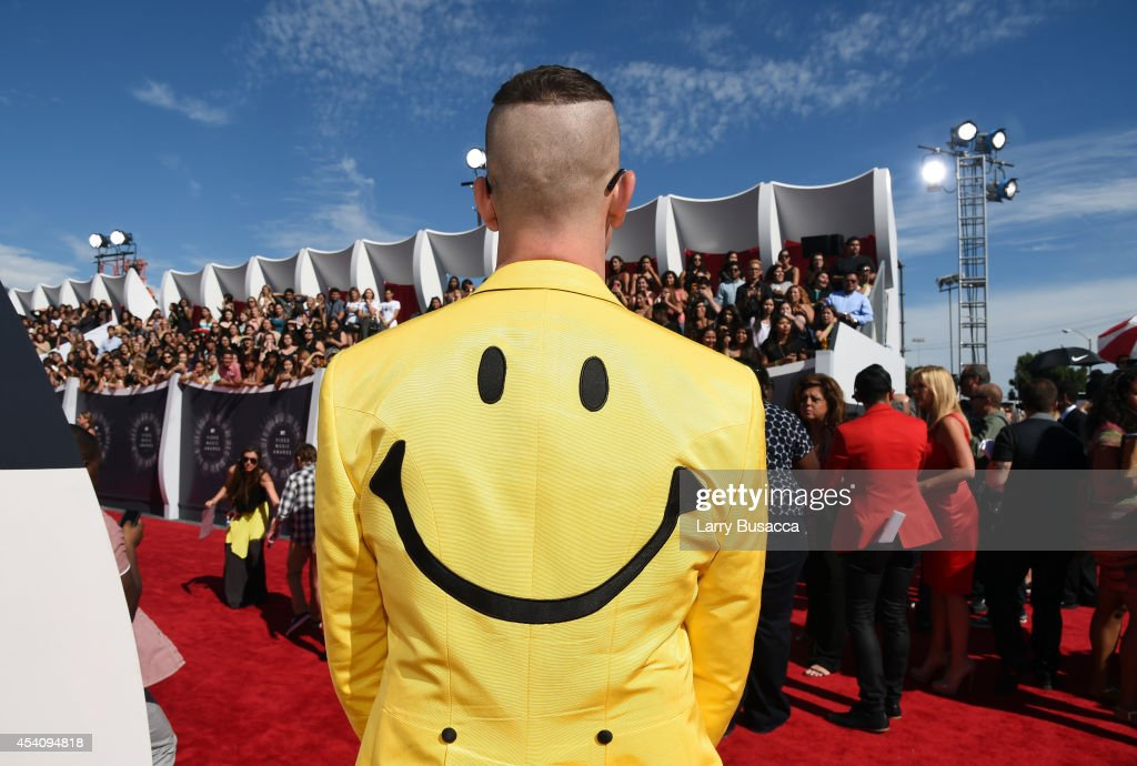 Fashion designer Jeremy Scott attends the 2014 MTV Video Music Awards at The Forum on August 24, 2014 in Inglewood, California.