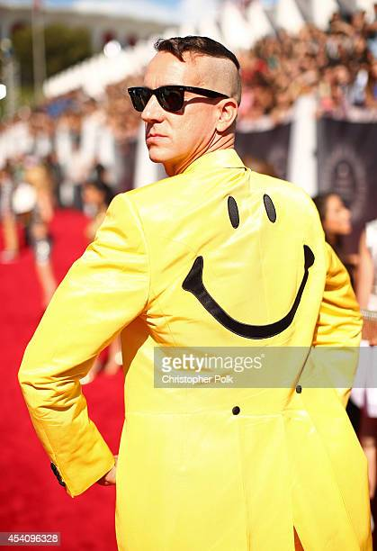 Fashion designer Jeremy Scott attends the 2014 MTV Video Music Awards at The Forum on August 24 2014 in Inglewood California