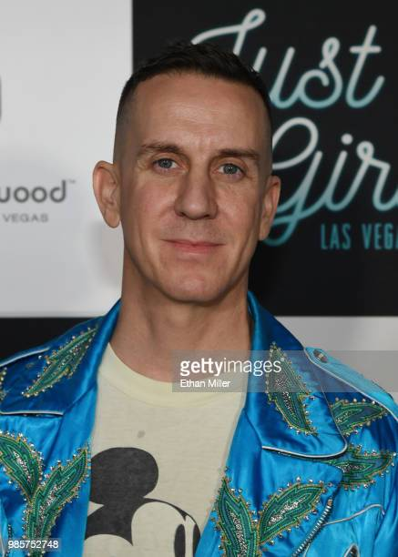 Fashion designer Jeremy Scott attends the grand opening of the Gwen Stefani Just a Girl residency at Planet Hollywood Resort Casino on June 27 2018...