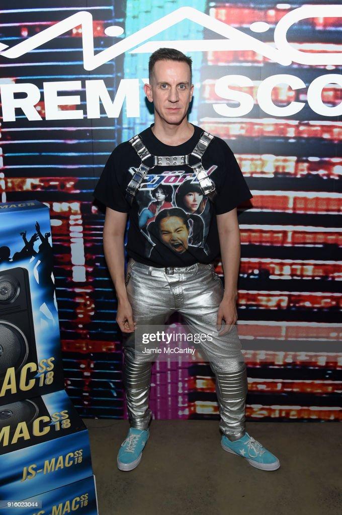 Fashion designer Jeremy Scott attends the MAC Cosmetics Jeremy Scott Collaboration on February 8, 2018 in New York City.