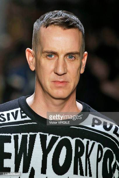 Fashion designer Jeremy Scott walks the runway for the Jeremy Scott Ready to Wear Fall/Winter 20192020 fashion show during New York Fashion Week on...