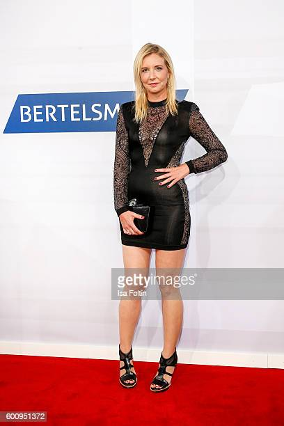 Fashion Designer Jette Joop attends the Bertelsmann Summer Party at Bertelsmann Repraesentanz on September 8 2016 in Berlin Germany