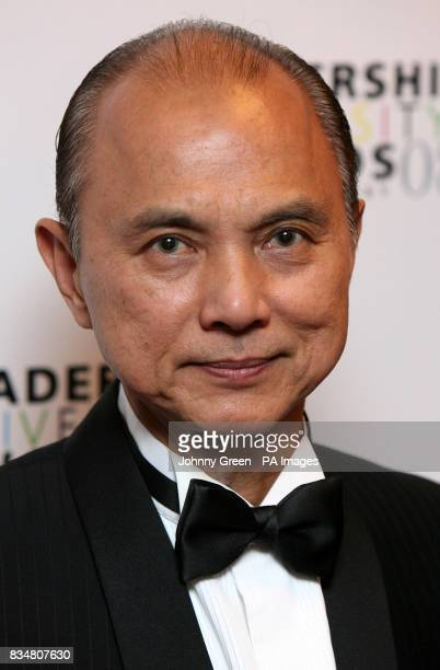 Fashion designer Jimmy Choo attends the GG2 Leadership and Diversity Awards at the Grosvenor Hotel in central London.