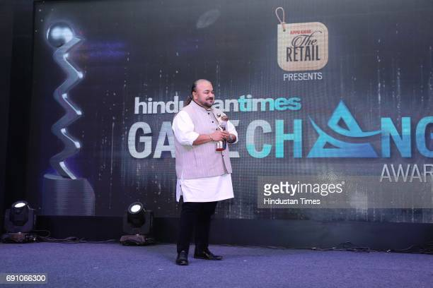 Fashion Designer JJ Valaya during the Hindustan Times Game Changer Awards 2017 at Hotel Oberoi on May 24 2017 in Gurgaon India