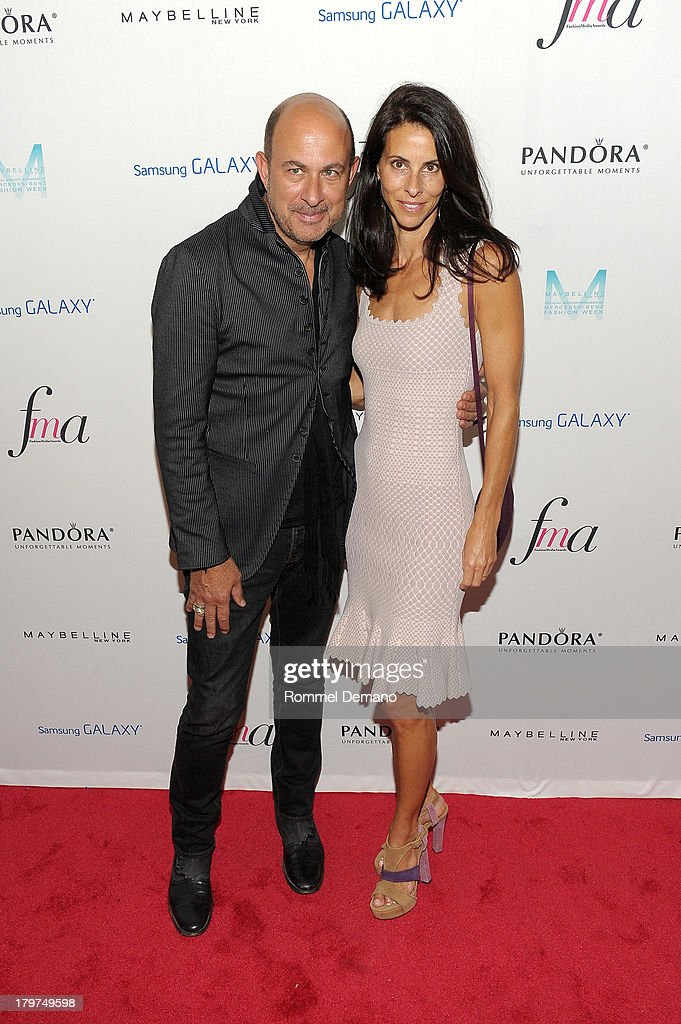 Fashion designer John Varvatos and attends The Daily Front Row's Fashion Media Awards at Harlow on September 6, 2013 in New York City.
