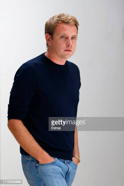 Fashion designer Jonathan Anderson the runway at the JW Anderson on the show during London Fashion Week September 2019 on September 16 2019 in London...