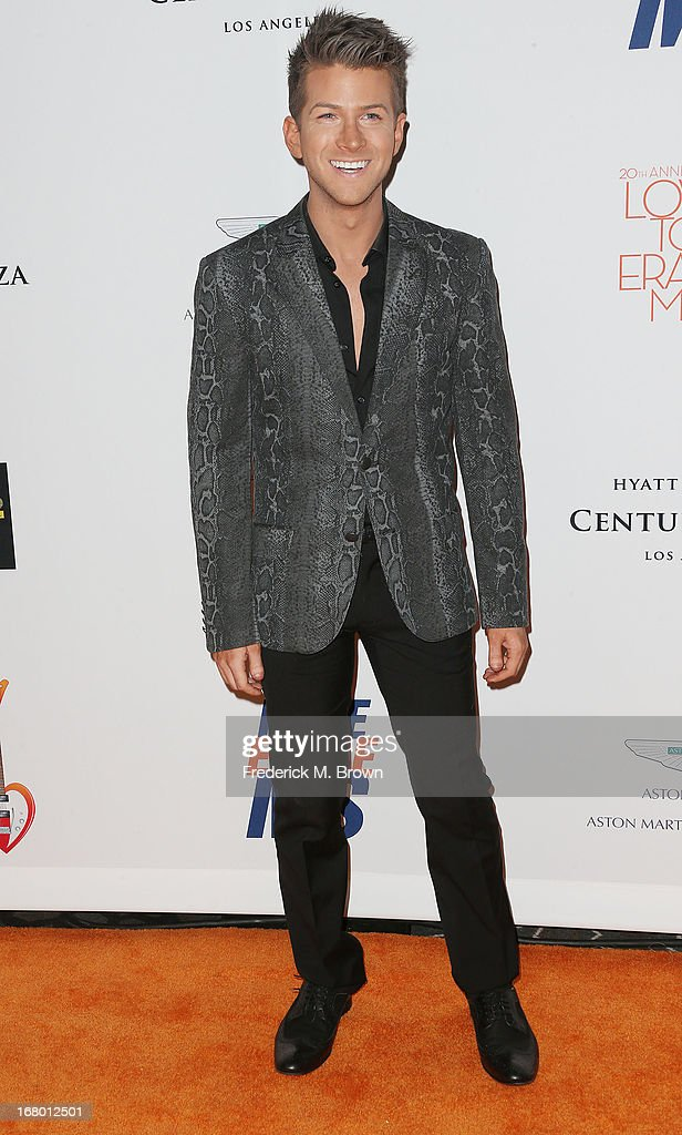Fashion designer Jonathan Bash attends the 20th Annual Race to Erase MS Gala 'Love to Erase MS' at the Hyatt Regency Century Plaza on May 3, 2013 in Century City, California.