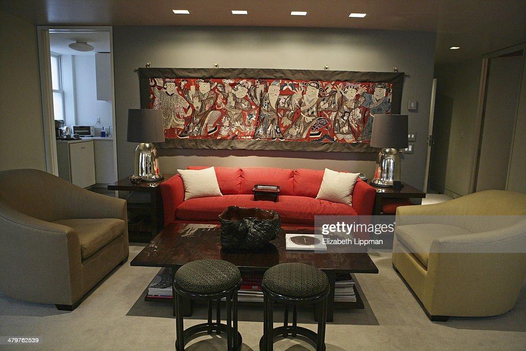 Fashion designer josie natoris home is photographed for new york post on december 2 2009