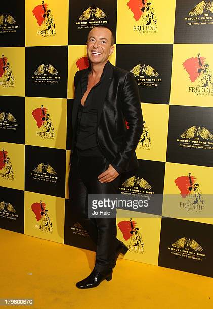 Fashion designer Julien Macdonald attends the Freddie for a Day charity event in aid of The Mercury Phoenix Trust at The Savoy Hotel on September 5...