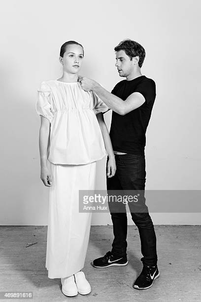 Fashion designer JW Anderson is photographed for the Independent on September 3 2013 in London England