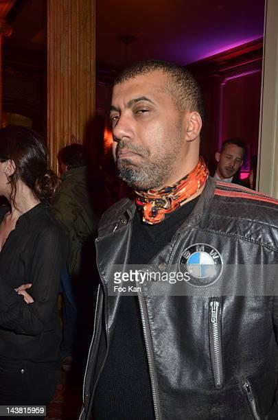 Fashion designer Karim Bonnet from Impasse de La Defense attend the Villa Schweppes Launch Party for Cannes Film Festival 2012 at Pavillon...