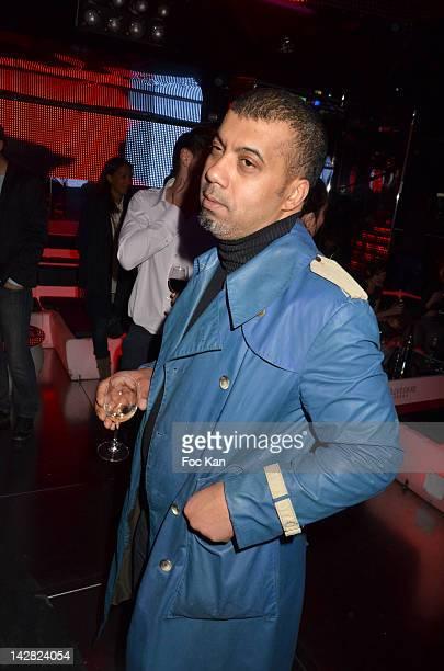 Fashion designer Karim Bonnet from Impasse de la Defense attends the 'Grand Seigneur No3' Fooding Magazine Launch Party at VIP Room Theater on April...
