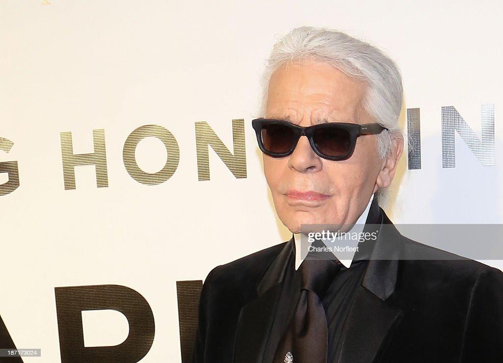An Evening Honoring Karl Lagerfeld : Nachrichtenfoto