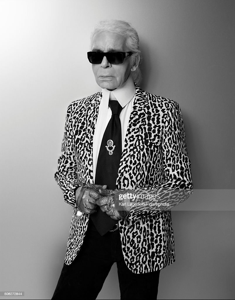 Karl Lagerfeld, Madame Figaro, January 15, 2016 : Fotografía de noticias