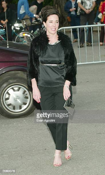 Fashion designer Kate Spade attends the Fresh Air Fund Salute To American Heroes at Tavern On The Green June 5 2003 in New York City