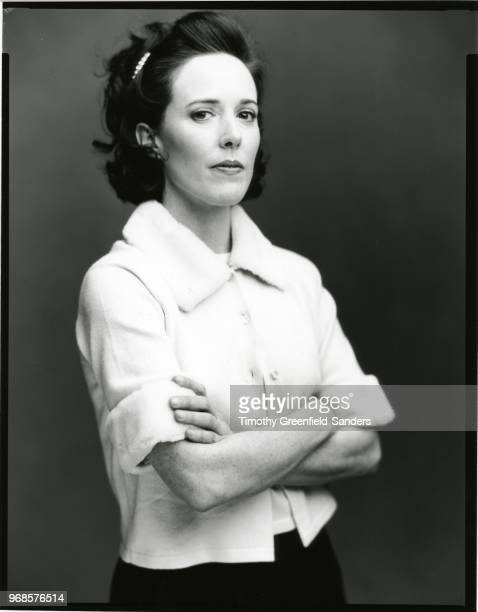 Fashion designer Kate Spade is photographed in 1996 in New York City