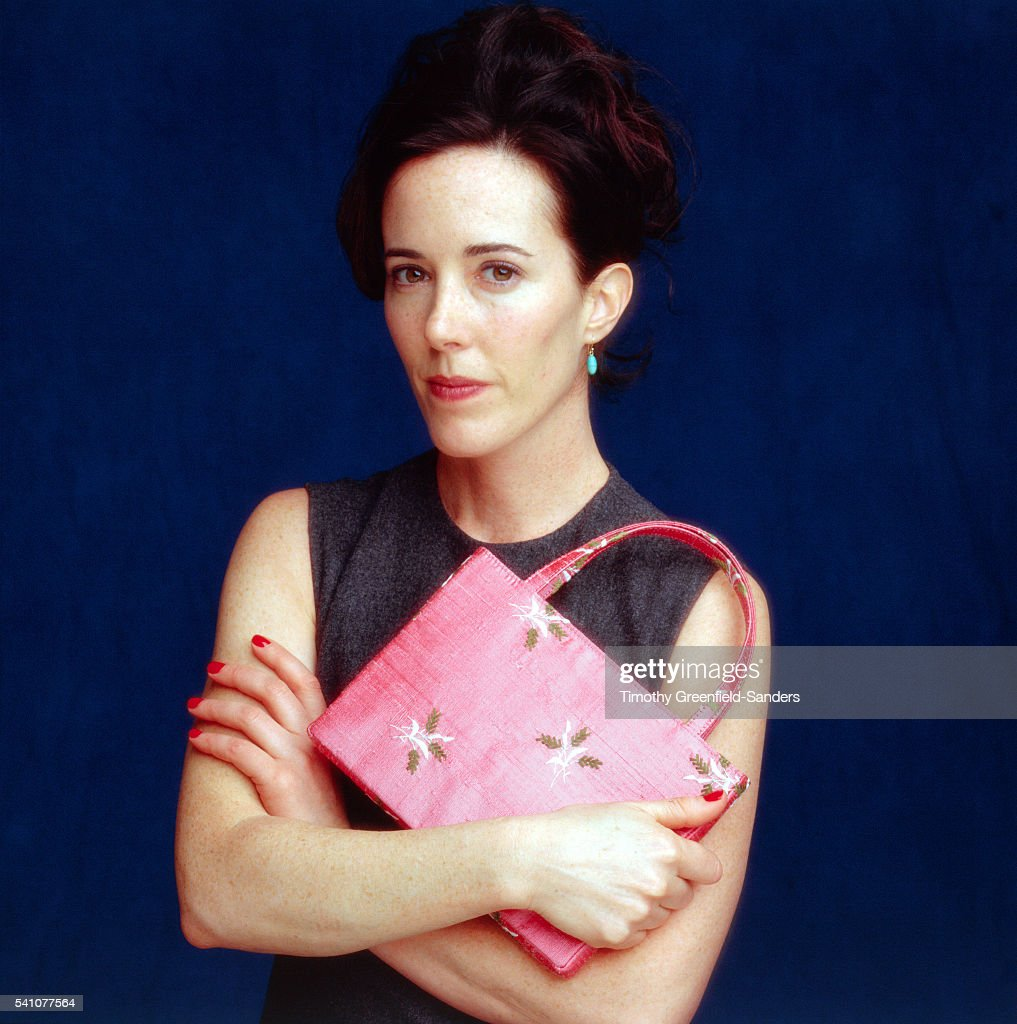 Kate Spade, March 1998 : News Photo