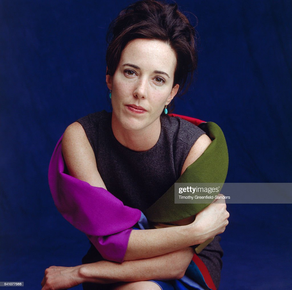 Fashion designer Kate Spade is photographed in March 1998 in New York City.