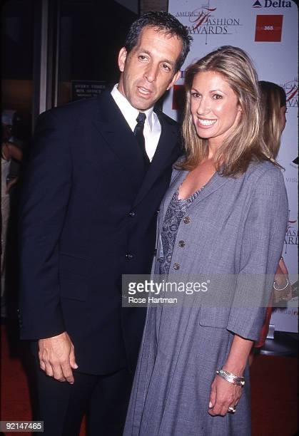 Fashion designer Kenneth Cole and his wife Maria at the Council of Fashion Designers of America Awards at Lincoln Center New York 2000