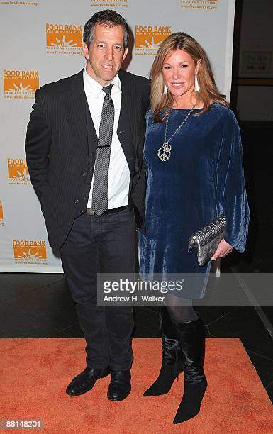 Fashion designer Kenneth Cole and Maria Cuomo Cole attend the 6th annual CanDo Awards dinner and auction hosted by the Food Bank for New York City at...