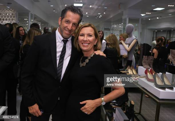 Fashion Designer Kenneth Cole and President of Lord Taylor Liz Rodbell attend New York Magazine And Lord Taylor Celebrate CITY WITH SOUL at Lord...