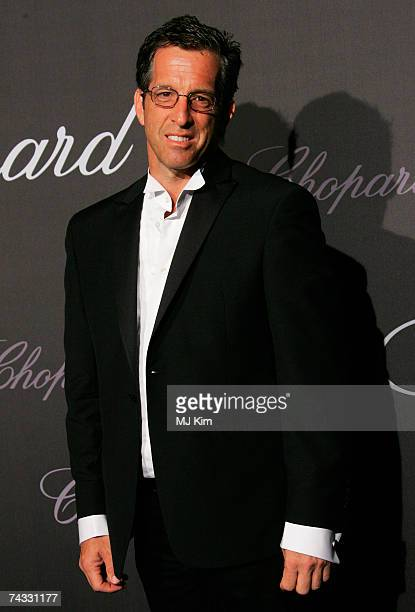 Fashion designer Kenneth Cole arrives at the The Chopard Trophy held at the Rosarie Club during the 60th International Cannes Film Festival on May 25...