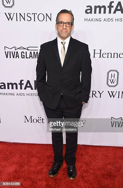 Fashion designer Kenneth Cole attends 2016 amfAR New York Gala at Cipriani Wall Street on February 10 2016 in New York City