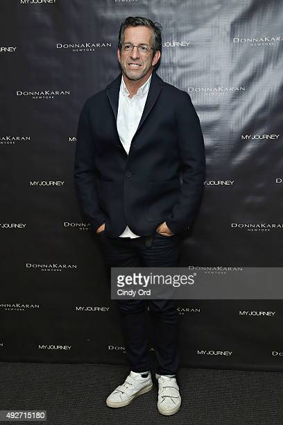 Fashion designer Kenneth Cole attends Donna Karan's 'My Journey' Book Release Party at Urban Zen on October 14 2015 in New York City