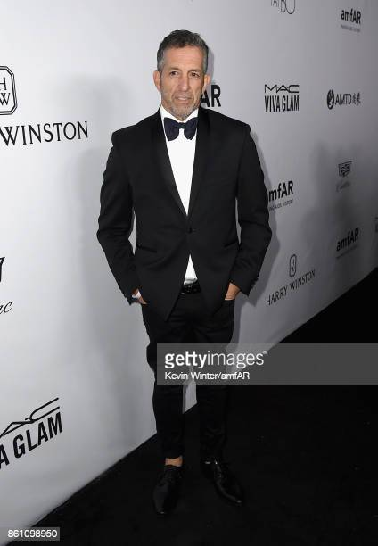 Fashion designer Kenneth Cole attends the amfAR Gala Los Angeles 2017 at Ron Burkle's Green Acres Estate on October 13 2017 in Beverly Hills...