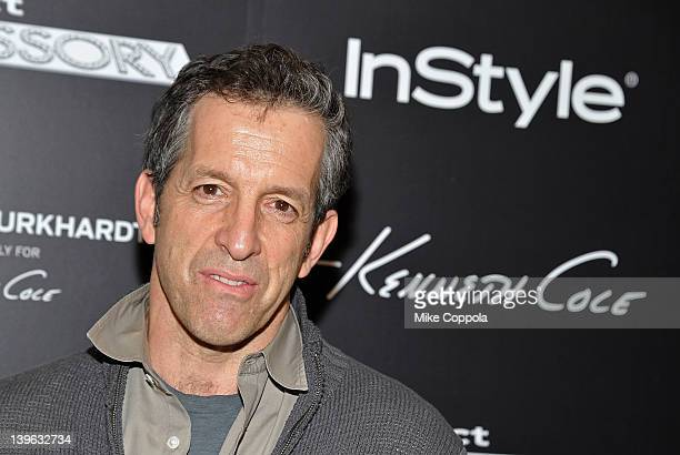Fashion designer Kenneth Cole attends the Brian Burkhardt/Kenneth Cole launch party at Kenneth Cole on February 23 2012 in New York City
