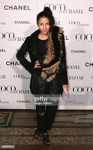 Fashion designer Kim Ellery arrives for the Australian Premiere of 'Coco Avant Chanel' at the State Theatre on June 17 2009 in Sydney Australia