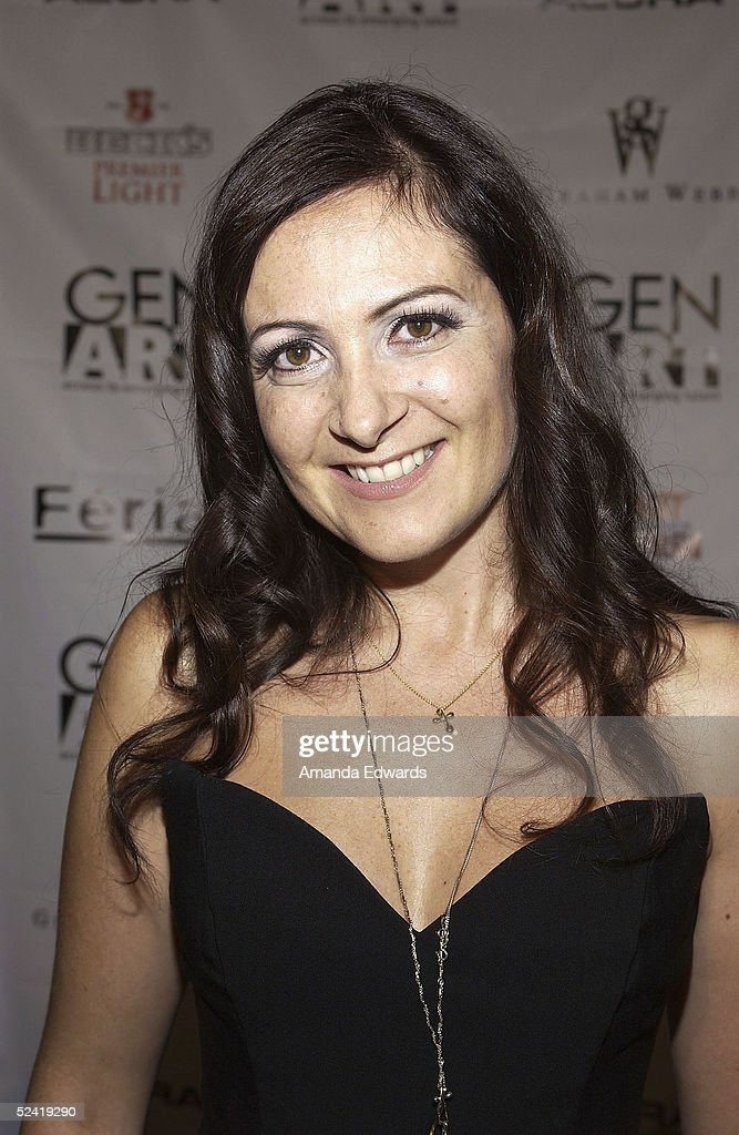 Fashion designer Konstantina Mittas arrives at the Gen-Art Fall 2005 LA Fashion Week Kick Off Party on March 14, 2005 at the MOCA Geffen Contemporary Museum in Los Angeles, California.