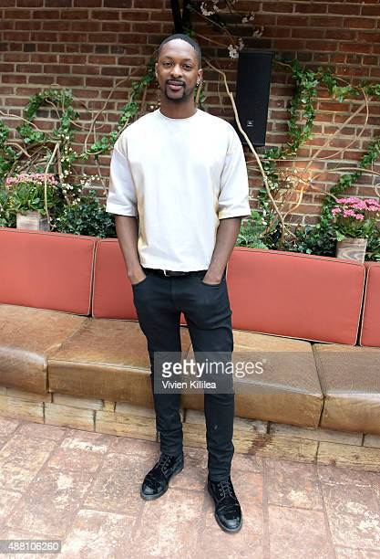 Fashion designer LaQuan Smith attends the LaQuan Smith presentation during Spring 2016 New York Fashion Week on September 13 2015 in New York City