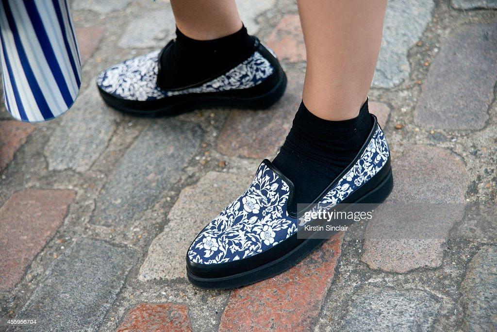 Fashion Designer Lara Bohinc Is Wearing Mother Of Pearl Shoes On Day News Photo Getty Images