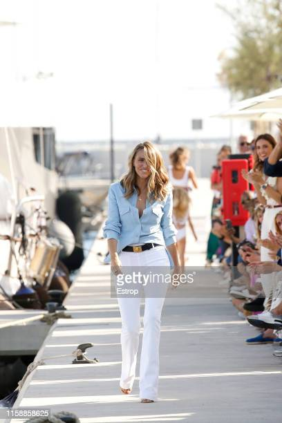 Fashion Designer Laura Vecino at the Laura Vecino show during Barcelona 080 Fashion Week Spring/Summer 2020 on June 28 2019 in Barcelona Spain
