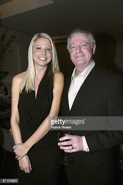 Fashion designer Lauren Code with Esprit managing director Morra Watenhein attend the Launch of 'Collections' a new label from Esprit on July 28 2004...