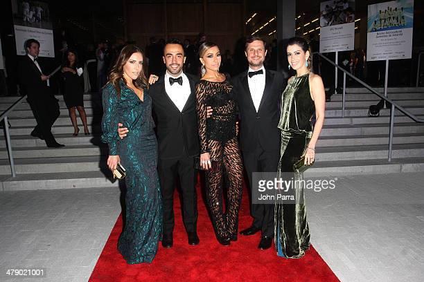 Fashion Designer Lilly Sarti Stylist Yan Acioli TV Personality Sabrina Sato executive consultant for Brazil Foundation Helio Campos and Camila...