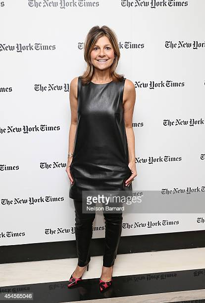 Fashion designer Lisa Perry attends the New York Times Vanessa Friedman and Alexandra Jacobs welcome party on September 3 2014 in New York City