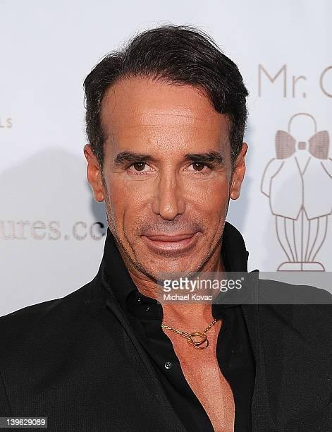 Fashion designer Lloyd Klein arrives at Mr. C Beverly Hills hosts Domingo Zapata's Oscar Art Show at Mr. C Beverly Hills on February 22, 2012 in...