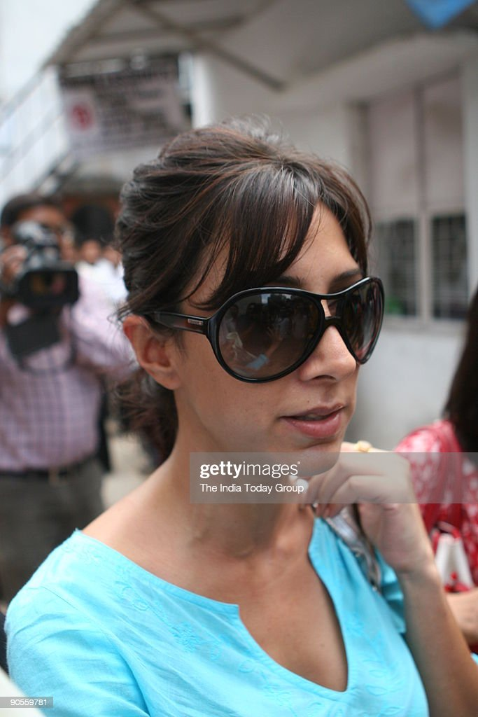 Fashion Designer Malini Ramani At The Patiala House Court New Delhi News Photo Getty Images