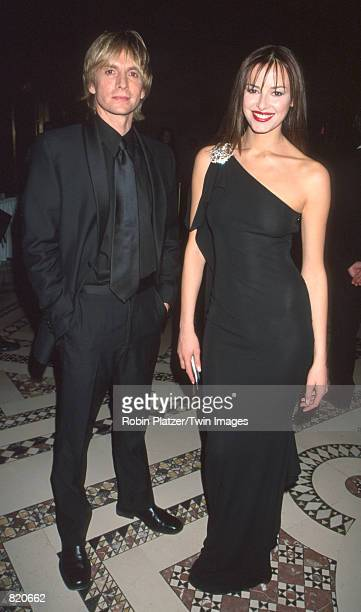 """Fashion designer Marc Bouwer and Caroline Parsons attend the second annual """"Spirit of Discovery"""" Ball presented by The Leukemia & Lymphoma Society at..."""