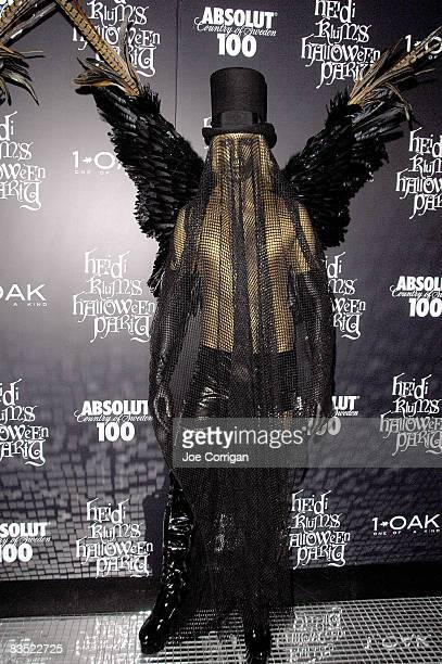 Fashion designer Marc Bouwer attends Heidi Klum's 9th annual Halloween party presented by Absolut 100 at 1 OAK on October 31, 2008 in New York City.