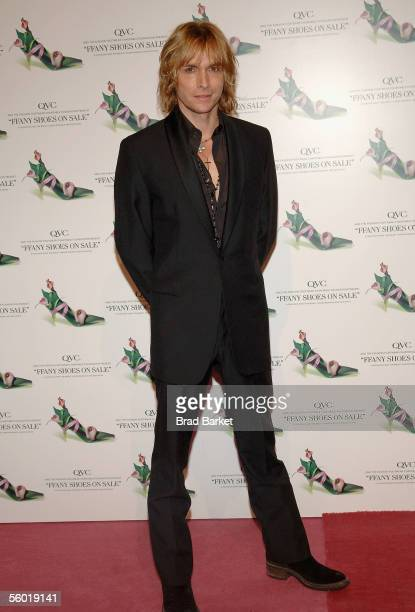 """Fashion designer Marc Bouwer attends the """"FFANY Shoes On Sale"""" Benefit For Breast Cancer hosted By QVC at Pier 94 October 26, 2005 in New York City."""