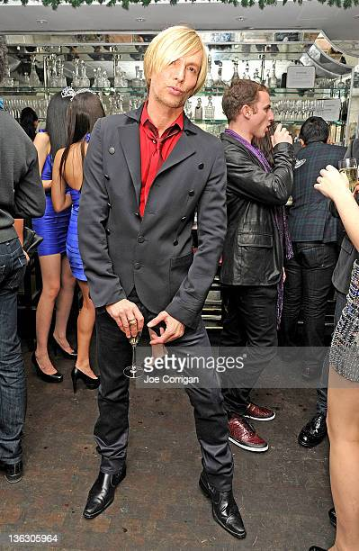 Fashion designer Marc Bouwer attends the New Years Eve celebration at Beauty Essex on December 31 2011 in New York City
