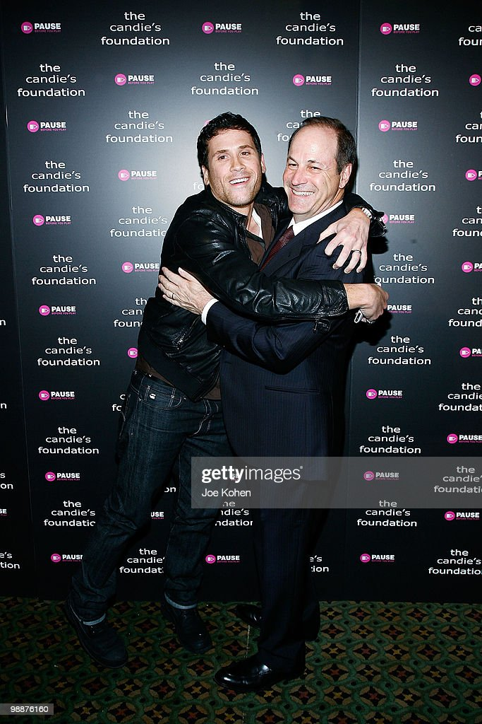 Fashion designer Marc Ecko (L) and CEO of Candie's Neil Cole attend The Candie's Foundation Event To Prevent at Cipriani 42nd Street on May 5, 2010 in New York City.