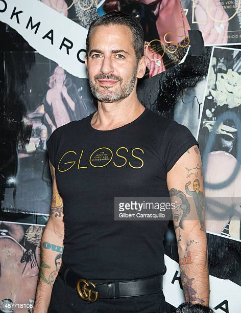 Fashion designer Marc Jacobs attends 'Gloss The Work Of Chris Von Wangenheim' Book Launch Party at The Tunnel on September 10 2015 in New York City