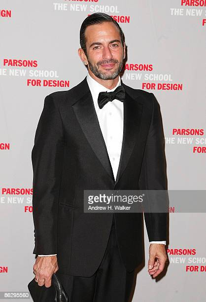 Fashion designer Marc Jacobs attends the 2009 Parsons Fashion benefit honoring Calvin Klein Inc's Tom Murry and Francisco Costa at the 2009 Fashion...