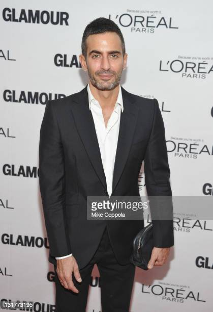 Fashion designer Marc Jacobs attends the 21st annual Glamour Women of the Year Awards at Carnegie Hall on November 7 2011 in New York City