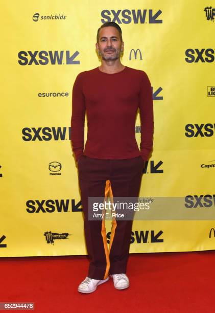 Fashion designer Marc Jacobs attends 'The Fashion Designer in the Age of Social Media' during 2017 SXSW Conference and Festivals at Austin Convention...