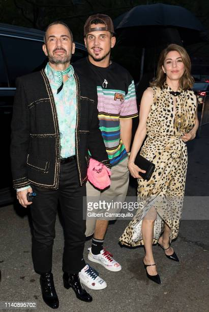 Fashion designer Marc Jacobs Char Defrancesco and screenwriter director producer Sofia Coppola are seen arriving to the Prada Resort 2020 fashion...